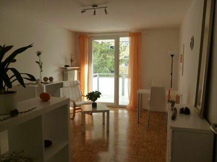 Bestlage München-Schwabing: Möbliertes Appartement mit Balkon nähe Hohenzollernplatz