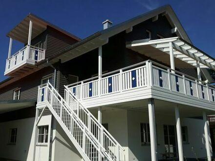 Neubau idyllische Bio- DG-Loft-Whg., 85m2, 2 Zimmer mit W-Balkon, Kellerabteil