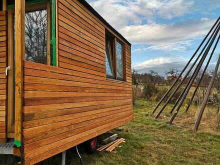 Bauwagen Tiny House Schäferwagen Gartenhaus Winterwagen Holzwagen NEU
