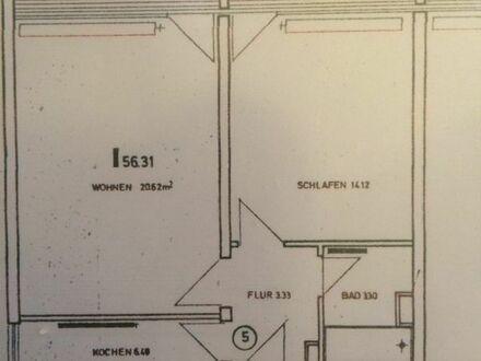 2-Zimmerwohnung, Küche, Flur, Bad, Kellerabteil -neu saniert-