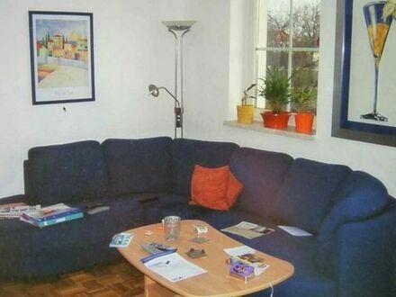 Möblierte, idyllisch gelegene 3-Zimmer-Wohnung