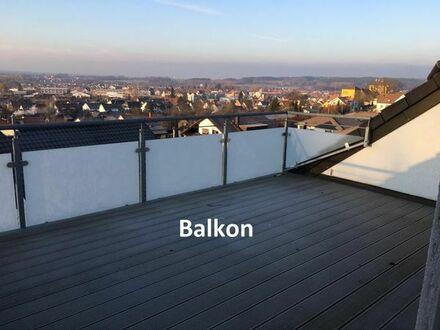 3,5 Zimmer Wohnung mit großem Balkon