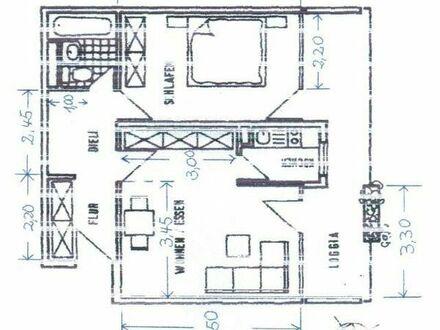 Single - Wohnung, ca 55m2 , 2 Zimmer, in Esslingen