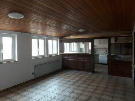 Große Wohnung in Kleinaspach ca. 200m2 im 2Stock EUR 1320,00 Haustiere erlaubt.