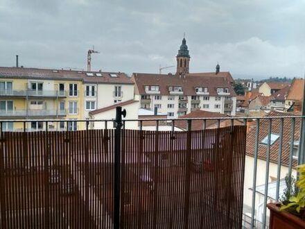 WGgeeignet: 3 ZKB-Wohnung in Landau-Stadtmitte, mit Balkon und Aufzug, ab August oder September 19