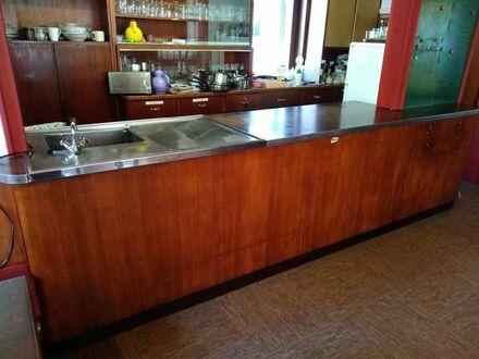 Vintage Tresen und Buffet für Ausschank, Café o.Ä.