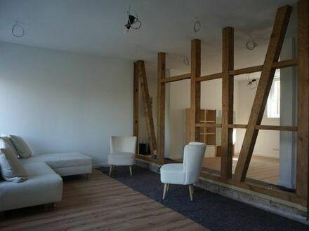 Altstadtnahe, neuwertige 3,5 Zimmerwohnung in altem Fachwerkhaus