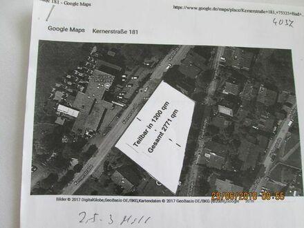 Bauplatz nahe Kurparks in Bad Wildbad für 16 Wohnungen