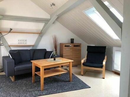 Wohnung möbliert f. Wochenendheimfahrer (30m2); 1 Zimmer inkl. Kochnische + Tageslichtbad, Warmmiete