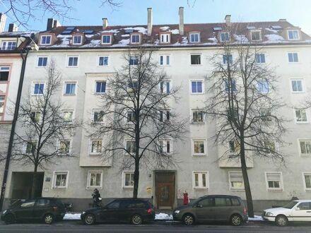 freundliche 2 Zimmer Wohnung mit EBK, zentrale Lage