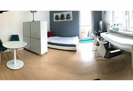 WG Zimmer mit Balkon 23 qm im Villenviertel Citynah