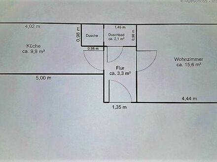 1 Raum Wohnung Erdgeschoss unsaniert ca 32 qm in 90443 zu verkaufen