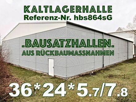 Lagerhalle Stahl-Leichtbauhalle 36x24x7.8m Stahlhalle aus Abbruch