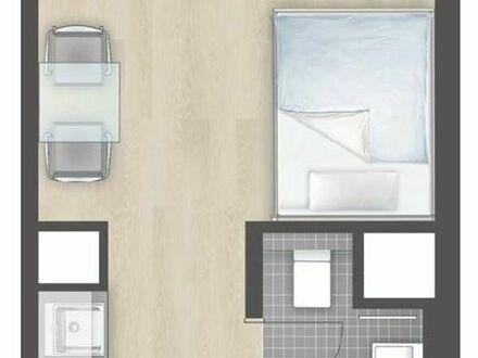 Bild_1 Zimmer- Appartement Neubau für Studenten, Azubis, und Doktoranten.2. Obergeschoß, ab 20.10.18