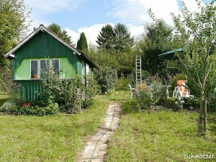 Obstgarten Hütte 3300l Erdtank, 12 Ar, stadtnah Fernblick Garten Gartengrundstück Freizeitgrundstück