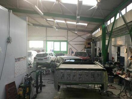 Kfz Werkstatt - Autolackiererei - Lager/Produktionshalle