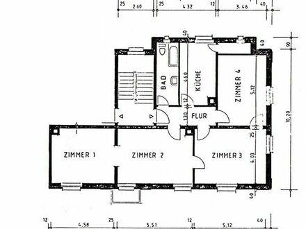 Verkaufe 4-Zimmer-ETW, ca. 105 m2 in Rastatt-City, direkt an der Murg