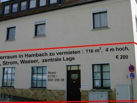 Lagerraum 116m2 zu vermieten in Hambach bei Schweinfurt
