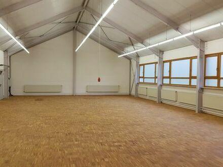 Halle / Lager / Werkstatt / Kursraum / Ausstellung / Atelier / 207 qm zu vermieten