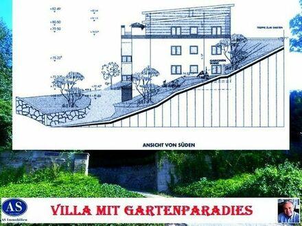 Grundstück für eine Villa mit Gartenparadies!