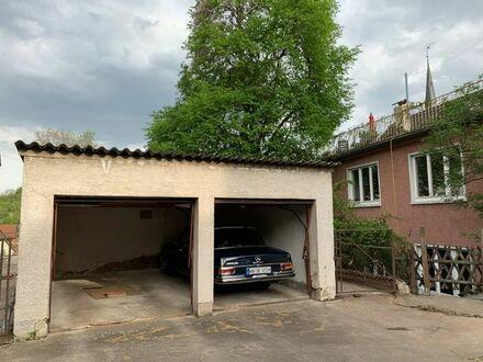 Doppelgarage in Stuttgart Ost Gablenberg im Hinterhof