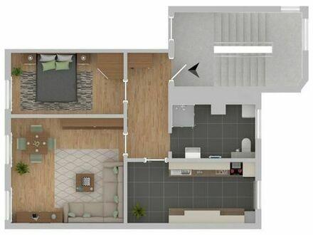 Wunderschöne helle 2-Raum Wohnung im Herzen von Zwickau