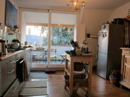 Tauschangebot: schöne 3-Zimmerwohnung, ruhige + zentrale Lage