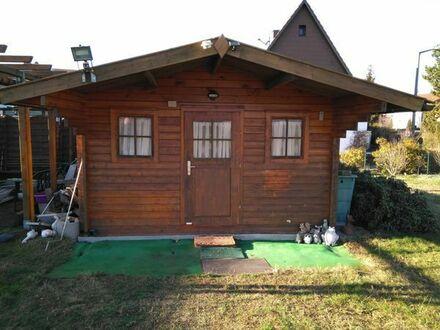 Gartenhaus in Blockbohlenbauweise (Fichte)