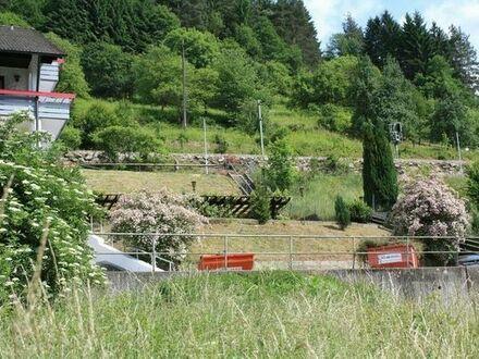Bauplatz in Forbach/Murgtal