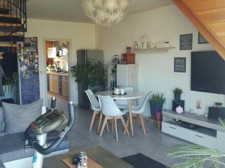Schöne 2 Zi-Maisonettewohnung in Minfeld