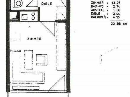 1 Zimmer Wohnung, möbliert, top Lage in München Schwabing