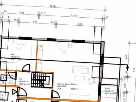 4 Zimmer Maisonette Wohnung Erstbezug