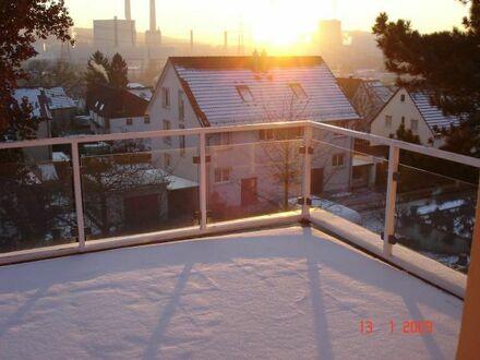3 Zimmer-Wohnung 1. OG möbliert, hell mit großem Balkon, ruhige Lage