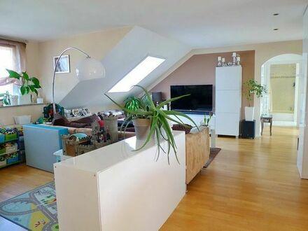 Riesige 3,5-Zi. Garten-Wohnung mit Süd-West Balkon, EBK und 2x Stellplatz in Remseck-Pattonville