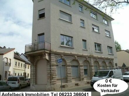 Zentrumsnahe 3 Zimmer Erdgeschoßwohnung in Frankenthal