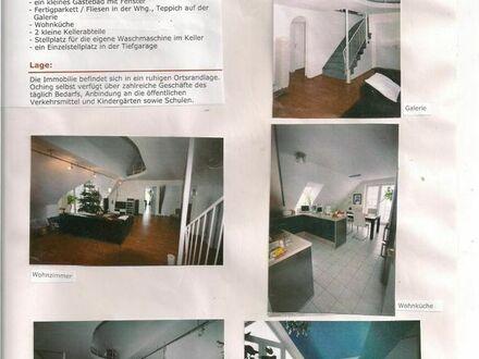 Biete (für langfristig) individuell geschnittene Maisonette-Wohnung in Olching/München ab 1.10.2019