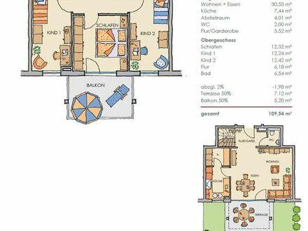 Tolle 4,5 Zimmer- Maisonettewohnung mit Balkon und Garten