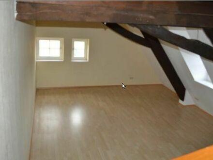 2 Zi Maisonette-Wohnung in Scheer frei ab sofort