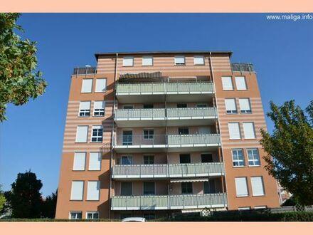 :-) Helle 2-Raum-Wohnung mit BALKON/Bad mit DUSCHE/PARKETT/LIFT & TIEFGARAGE