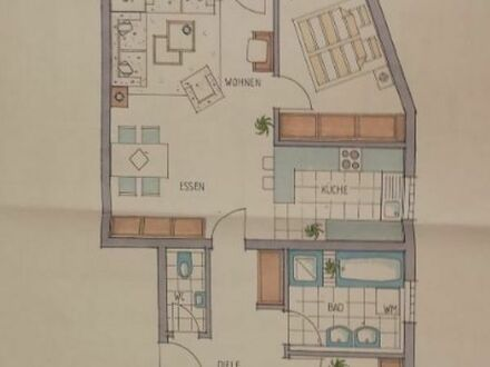 Schöne 4 1/2 Zimmer Wohnung in Schorndorf-Weiler