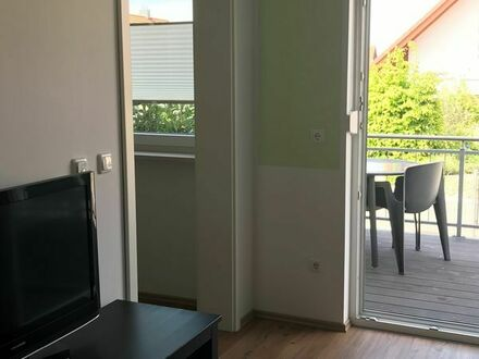 Modernes, möbliertes und ruhiges 1,5 Zimmer-Apartment nahe Herzogenaurach und Fürth