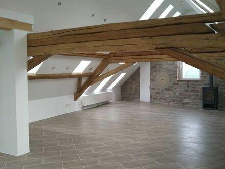 freundliche und helle DG-Wohnung mit Balkon in Großfischlingen
