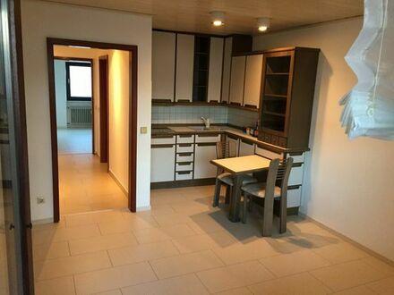 Sehr zentrale 2-Zimmer-Wohnung mit Balkon, Küche, Keller und Stellplatz