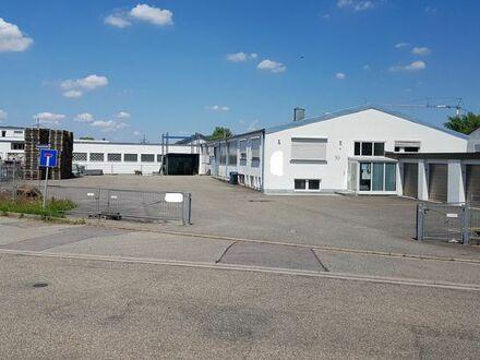 Produktions-und Lagerhalle mit Büros, Schulungsraum und Freifläche vielseitig nutzbar