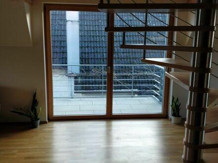 Zwei Zimmer Maisonette-Wohnung
