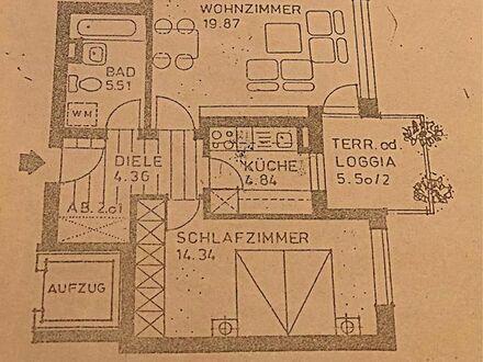 2 ZKB Wohnung mit Garten und Tiefgarage