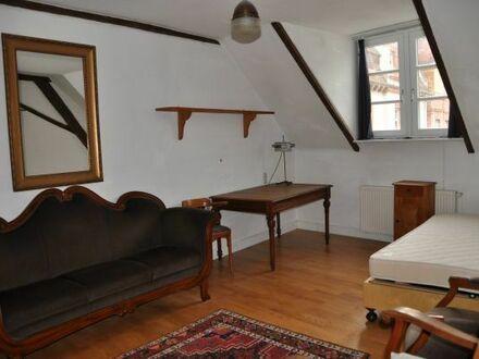 Heidelberg-Weststadt: 2 antik möblierte Zimmer (36 qm) mit Gemeinschaftsküche und -bad