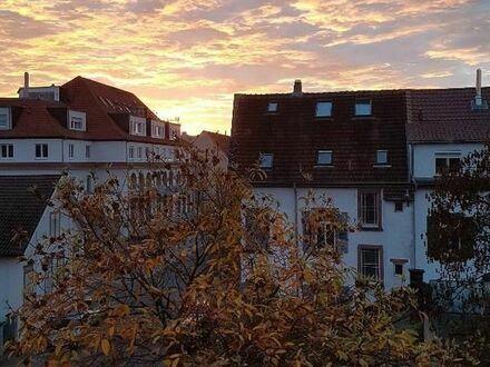 Herrliche Aussicht über Speyer: möblierte 4-Zi Dachwohnung zur Untermiete