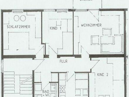 Helle, freundliche, 4 Zimmer Wohnung, 80,5m2 in Gomaringen