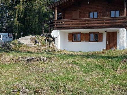Holzblockhaus sucht Gartenliebhaber als 2.Wohnsitz